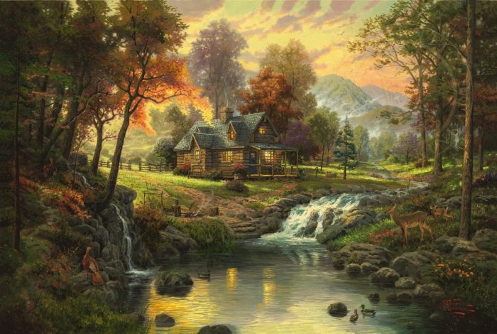 Mountain Retreat – Limited Edition Art