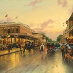 Main Street Celebration – Limited Edition Canvas