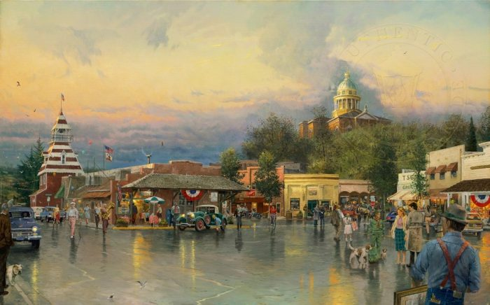 Main Street Courthouse – Limited Edition Art