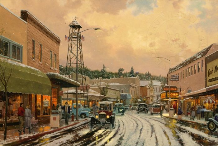 Main Street Matinee – Limited Edition Art