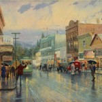 Main Street Trolley – Limited Edition Canvas