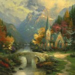 Mountain Chapel, The – Limited Edition Canvas