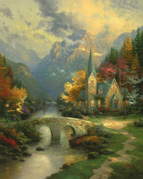 Mountain Chapel, The – Limited Edition Art