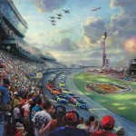 NASCAR® THUNDER – Limited Edition Canvas