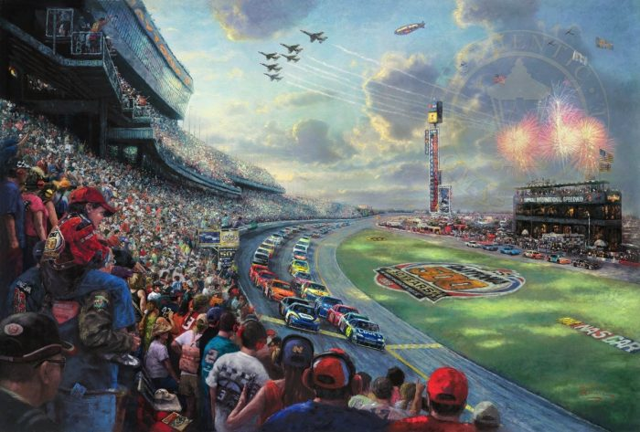 NASCAR Thunder – Limited Edition Canvas