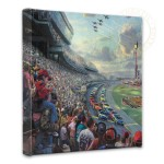 NASCAR Thunder – 14″ x 14″ Gallery Wrapped Canvas