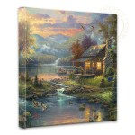 Nature's Paradise – 14″ x 14″ Gallery Wrapped Canvas