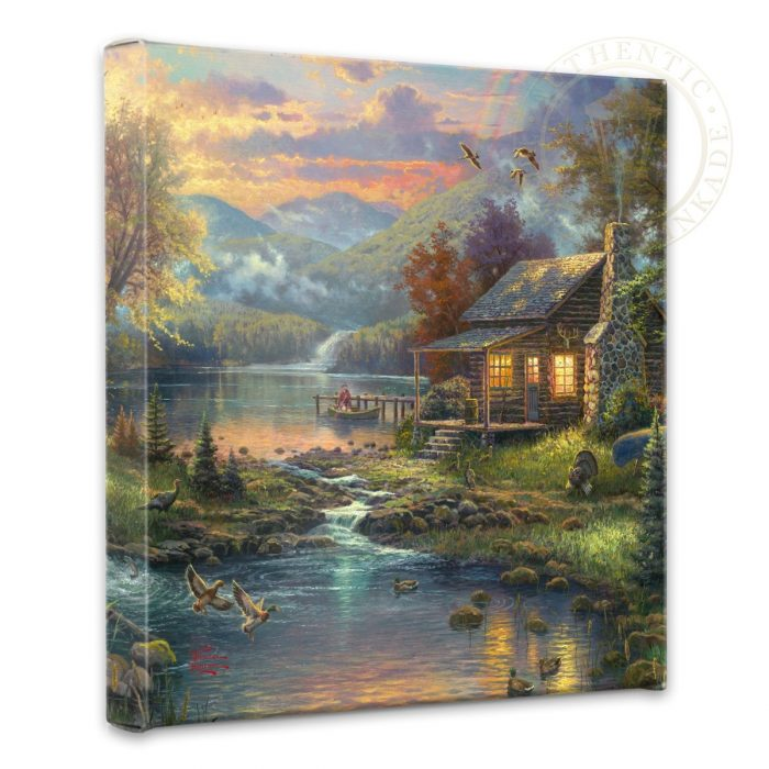 "Nature's Paradise – 14"" x 14"" Gallery Wrapped Canvas"