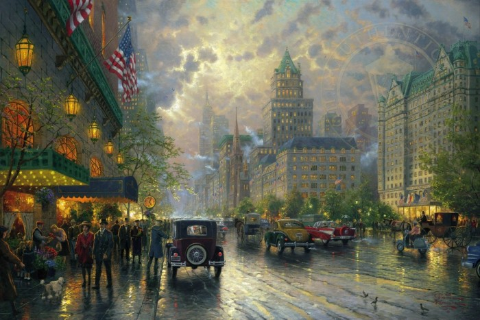 New York, Fifth Avenue – Limited Edition Art