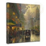"New York, Fifth Avenue – 14"" x 14"" Gallery Wrapped Canvas"