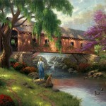 Old Fishin' Hole, The – Limited Edition Canvas
