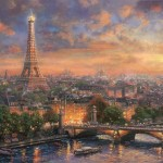 Paris, City of Love – Limited Edition Canvas