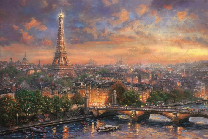 Paris, City of Love – Limited Edition Art