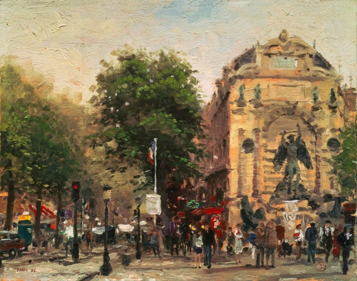Paris, St. Michel – Limited Edition Art