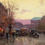 Paris Twilight – Limited Edition Canvas