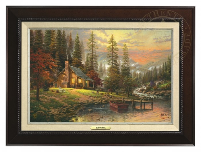 Peaceful Retreat, A – Canvas Classic