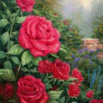 A Perfect Red Rose – Limited Edition Canvas