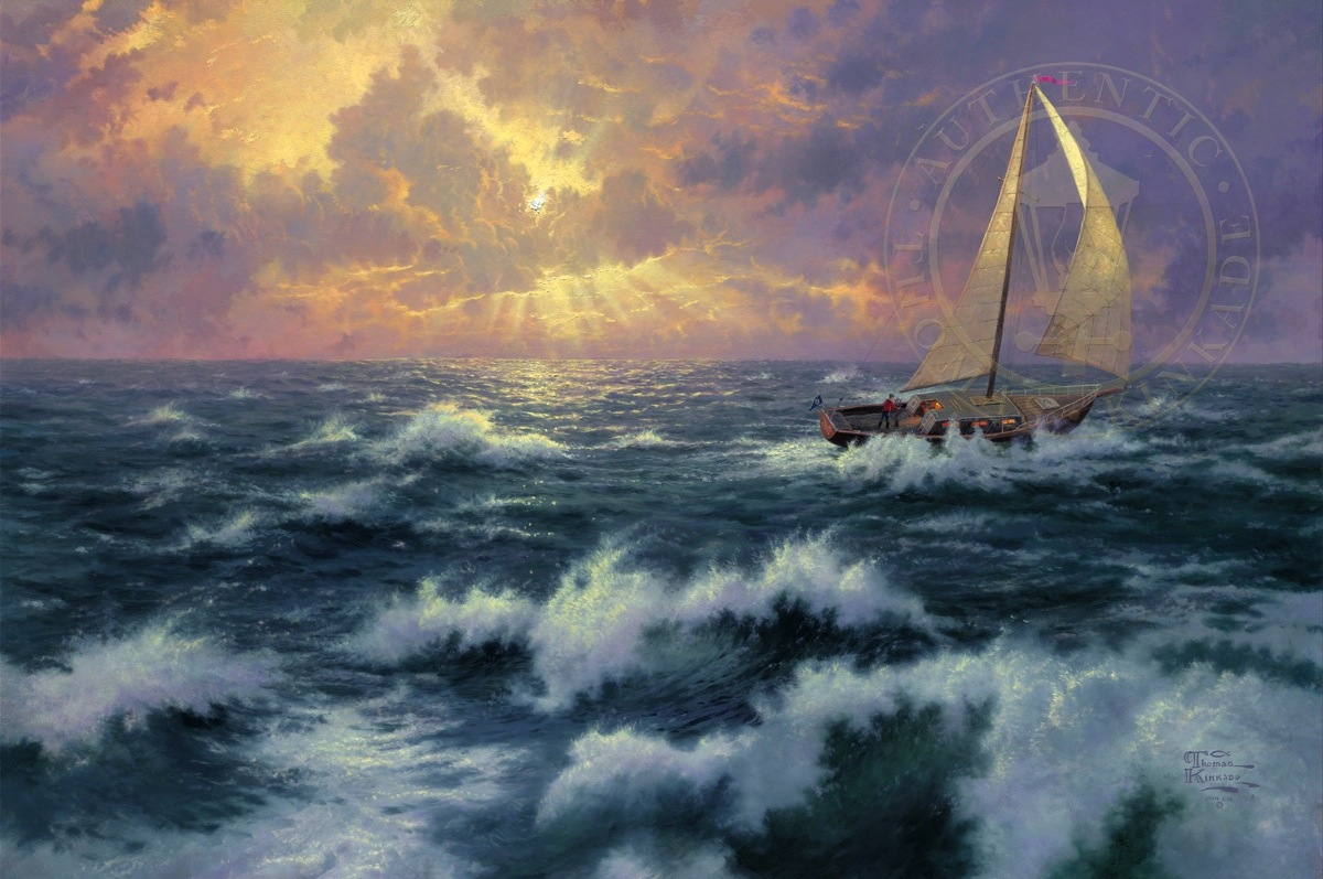 Perseverance – Limited Edition Canvas | Thomas Kinkade Studios