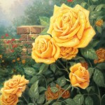 Perfect Yellow Rose, A – Limited Edition Canvas