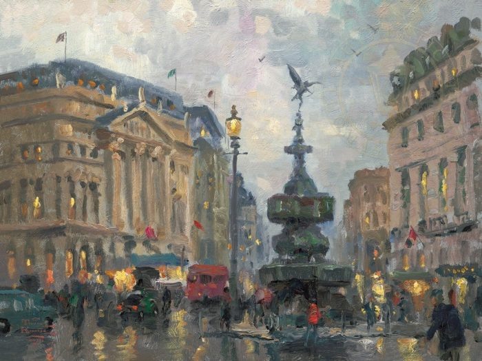 Piccadilly Circus, London – Limited Edition Canvas