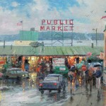 Pike Place Market, Seattle – Limited Edition Canvas