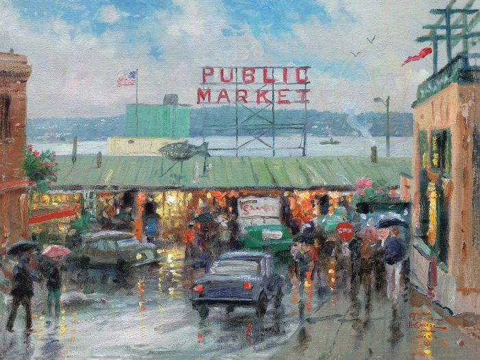 Pike Place Market, Seattle – Limited Edition Art