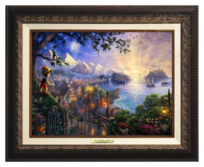 Pinocchio Wishes Upon A Star – Canvas Classics