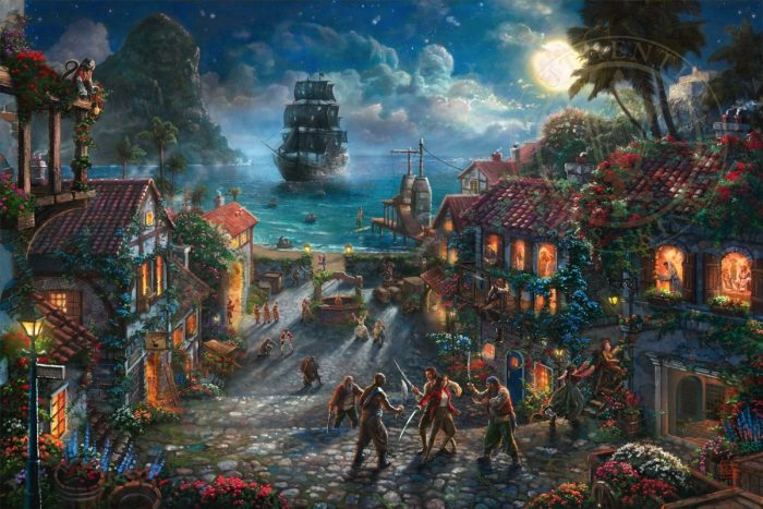 Pirates of the Caribbean – Limited Edition Canvas