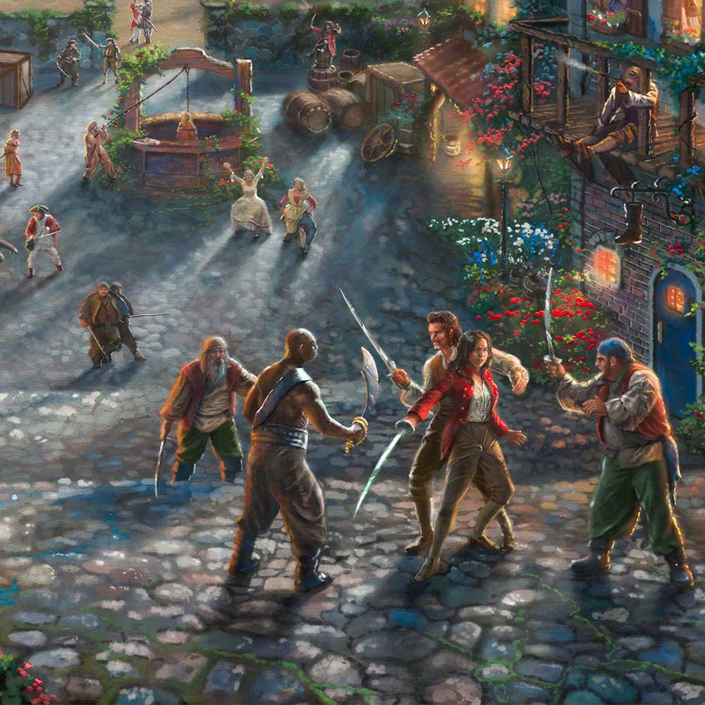 Disney Doppelgangers Pirates Edition: Pirates Of The Caribbean – Limited Edition Art