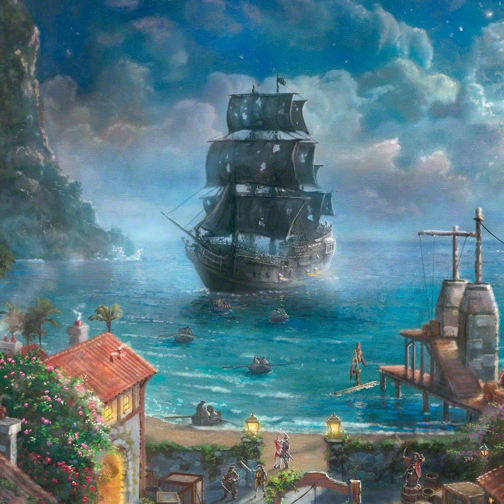 Caribbean: Pirates Of The Caribbean – Limited Edition Art