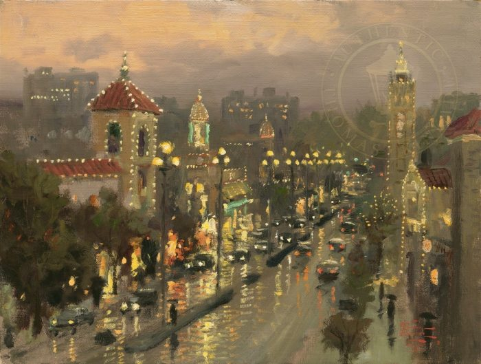 Plaza Lights, Kansas City – Limited Edition Canvas