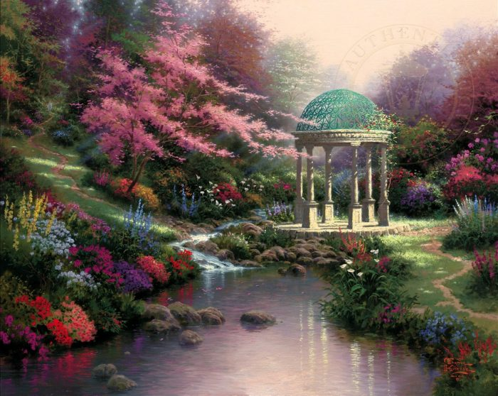 Pools of Serenity – Limited Edition Canvas