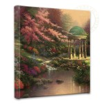 Pools of Serenity – 14″ x 14″ Gallery Wrapped Canvas