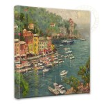 Portofino – 14″ x 14″ Gallery Wrapped Canvas