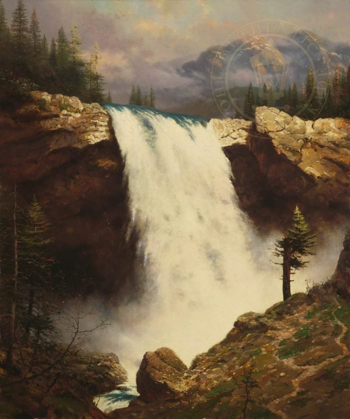 Power and The Majesty, The – Limited Edition Canvas