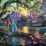 The Princess and the Frog – Limited Edition Canvas
