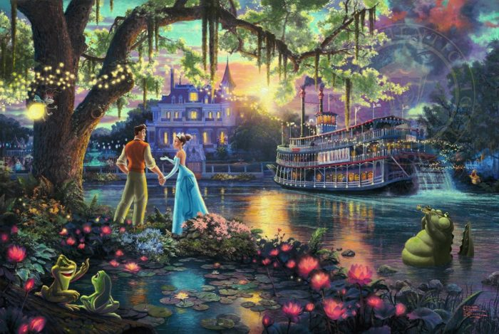 Princess and the Frog, The – Limited Edition Canvas