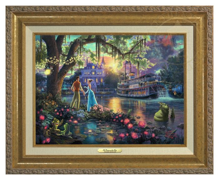 Princess and the Frog, The – Canvas Classics