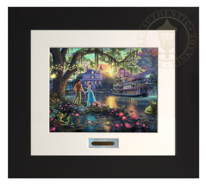 Princess and the Frog, The – Modern Home Collection (Espresso Frame)