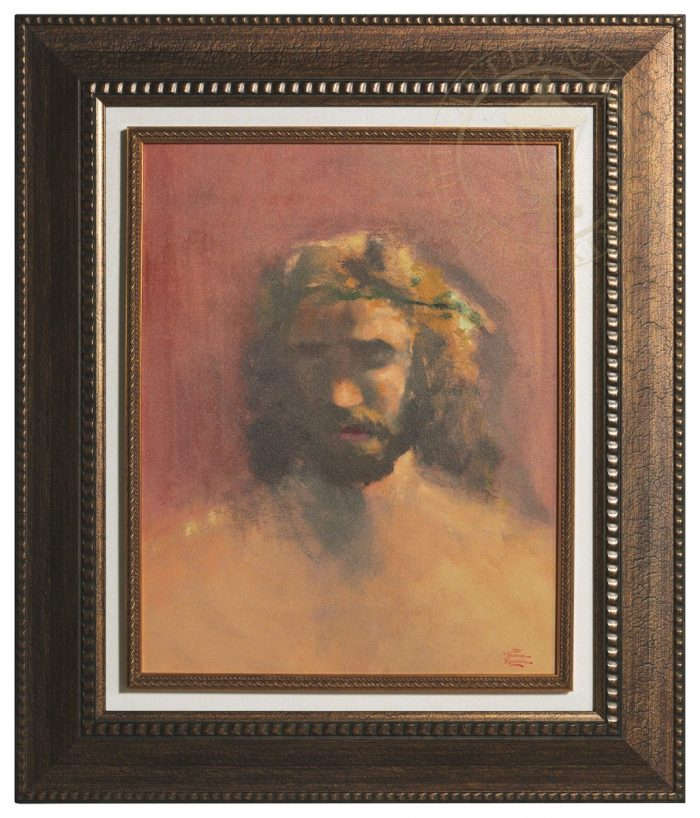 The Prince of Peace – Floating Textured Print