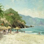 Puerto Vallarta Beach – Limited Edition Canvas