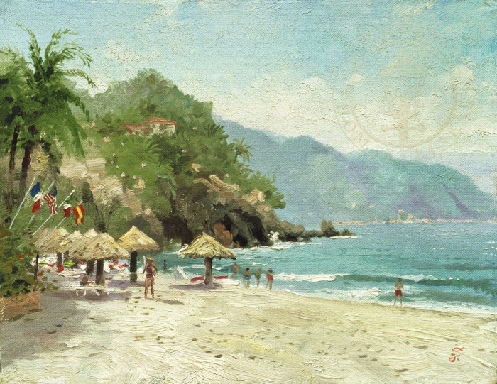 Puerto Vallarta Beach – Limited Edition Art