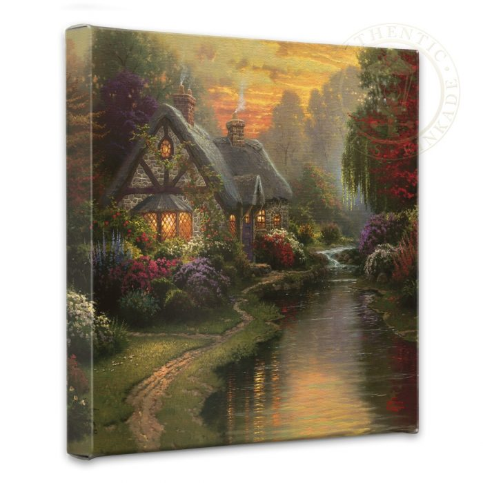 "Quiet Evening, A – 14"" x 14"" Gallery Wrapped Canvas"