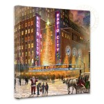 "Radio City – 14 "" x 14"" Gallery Wrapped Canvas"
