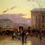 Rainy Dusk, Paris – Limited Edition Art