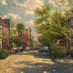 Rainbow Row, Charleston – Limited Edition Canvas