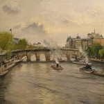 River Seine, The – Limited Edition Canvas