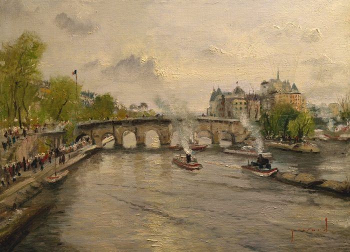 River Seine, The – Limited Edition Art