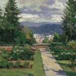 Rose Garden, Portland – Limited Edition Canvas