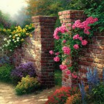 Rose Garden, The – Limited Edition Canvas